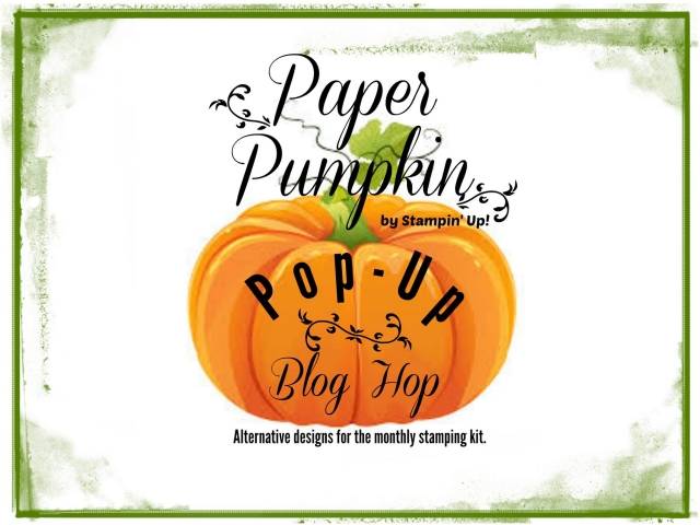 Click here to see all the great projects shared in this month's Paper Pumpkin Pop Up Blog Hop!!...#stampyourartout #stampinup - Stampin' Up!® - Stamp Your Art Out! www.stampyourartout.com