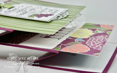 Vertical Stretch Fun-Fold Card