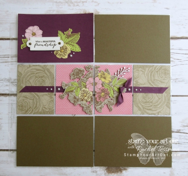 Click here to see fun alternate project ideas created with the March 2018 May Good Things Grow Paper Pumpkin kit in our Paper Pumpkin Pop Up Blog Hop! I shared a Memories & More pocket scrapbook page layout, a 12x12 traditional scrapbook page layout, and the note cards a few of us made when Mackenzie and her daughter came to visit. Enjoy!...#stampyourartout #stampinup - Stampin' Up!® - Stamp Your Art Out! www.stampyourartout.com