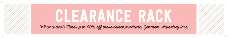 New items have been added to the Clearance Rack!…#stampyourartout - Stampin' Up!® - Stamp Your Art Out! www.stampyourartout.com