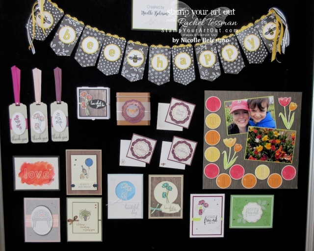 Click here to see photos of fun gifts I received, displays of stamped samples and more glimpses of the fun we had at the April 2018 OnStage #stampinup30 #april2018Onstage…#stampyourartout - Stampin' Up!® - Stamp Your Art Out! www.stampyourartout.com