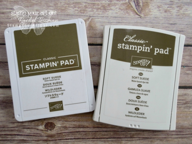 Comparing the older and the newer 2018 Stampin' Up! ink pads…#stampyourartout - Stampin' Up!® - Stamp Your Art Out! www.stampyourartout.com