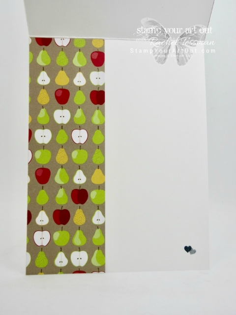 """Super """"sweet"""" cards created with the Fruit Basket stamp set, Tutti Frutti designer paper and the Metallic Foil Doilies – all retiring soon. Click here for more information…#stampyourartout - Stampin' Up!® - Stamp Your Art Out! www.stampyourartout.com"""