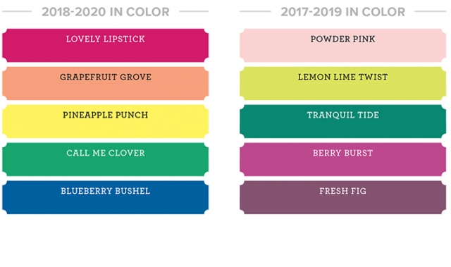 New In Color Collections in for the 2018-19 Catalog!…#stampyourartout - Stampin' Up!® - Stamp Your Art Out! www.stampyourartout.com