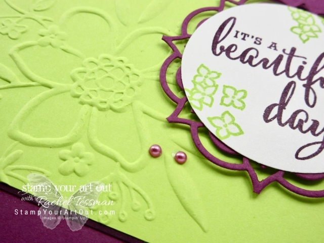 Super pretty cards made with the Share What You Love bundle in the 2018-19 Annual Catalog. In this one I also used the Eastern Medallion Thinlits.…#stampyourartout #stampinup - Stampin' Up!® - Stamp Your Art Out! www.stampyourartout.com