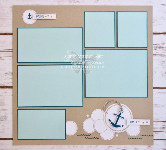 Click here to see fun alternate project ideas created with the April 2018 You Are My Anchor Paper Pumpkin kit in A Paper Pumpkin Thing Blog Hop! I shared a fun 12x12 scrapbook page and a coordinating candy bar wrap. Enjoy!...#stampyourartout #stampinup - Stampin' Up!® - Stamp Your Art Out! www.stampyourartout.com
