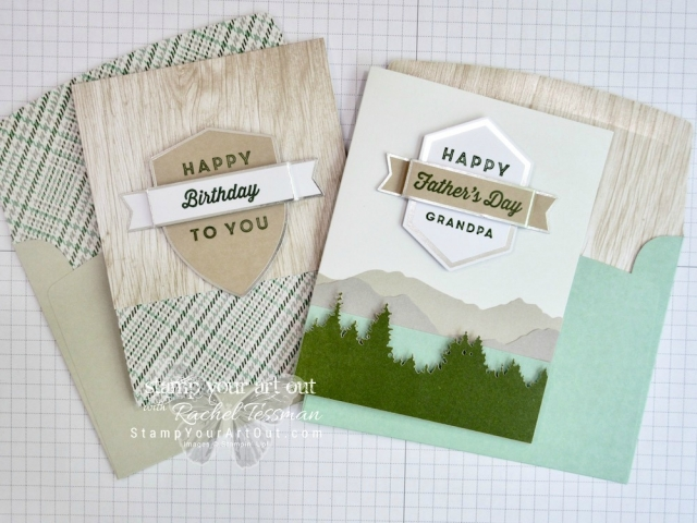 Click here for supplies, measurements AND to watch my quick video to see how to make a few quick alternate projects with the contents of the May 2018 Paper Pumpkin kit: Manly Moments…#stampyourartout #stampinup - Stampin' Up!® - Stamp Your Art Out! www.stampyourartout.com