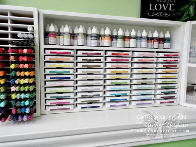 I reorganized my crafting space with a few new Stamp-n-Storage units so I could fit the new Stampin' Up! ink pads. And yay! If you're also reorganizing your space, you are doing it at the right time… Stamp-n-Storage is having a fabulous Spring 2018 sale through June 18th! Click here to shop! http://www.stampnstorage.com/#a_aid=stampyourartout …#stampyourartout #stampinup - Stampin' Up!® - Stamp Your Art Out! www.stampyourartout.com