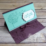 Click here for more information & to watch my quick video to see how I made this (and another) Landscape Easel Card using the Dandelion Wishes stamp set that just debuted in the 2018-19 Annual Catalog…#stampyourartout #stampinup - Stampin' Up!® - Stamp Your Art Out! www.stampyourartout.com