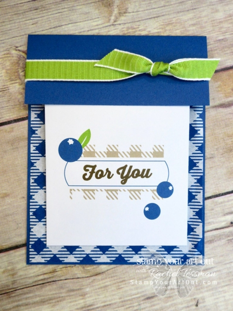 Click here for details on how to make this Flip Open Pocket Card using the contents of the July 2018 Picnic Paradise Paper Pumpkin kit…#apaperpumpkinthing #stampyourartout #stampinup - Stampin' Up!® - Stamp Your Art Out! www.stampyourartout.com