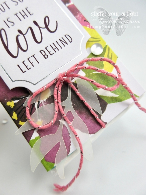 "Click here to see my 12x12 scrapbook page layout, my tissue holder AND several other alternate project ideas created with the August 2018 Blissful Blooms Paper Pumpkin kit and shared in our blog hop: ""A Paper Pumpkin Thing""!…#stampyourartout #stampinup - Stampin' Up!® - Stamp Your Art Out! www.stampyourartout.com"