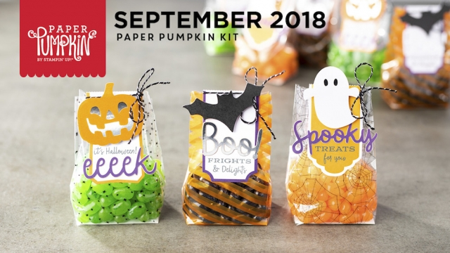 The September 2018 Paper Pumpkin Kit: Frights & Delights! …#stampyourartout #stampinup - Stampin' Up!® - Stamp Your Art Out! www.stampyourartout.com