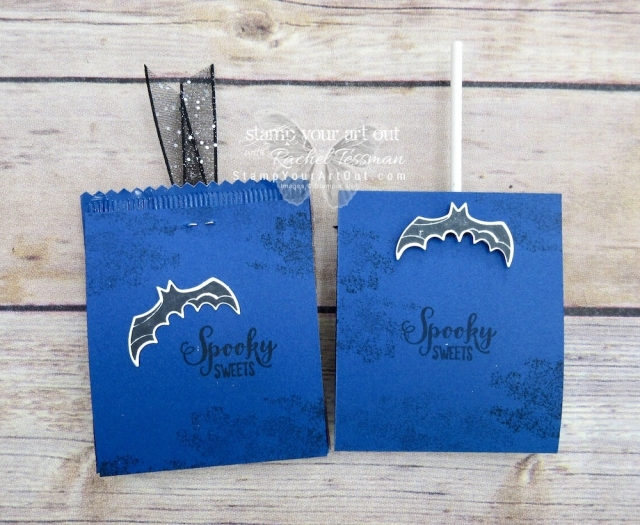 "Click here for more information & to watch my quick video to see how to make several adorable Halloween treats (including ""punch art"" pops) using new products that just debuted in the 2018 Holiday Catalog!…#stampyourartout #stampinup - Stampin' Up!® - Stamp Your Art Out! www.stampyourartout.com"