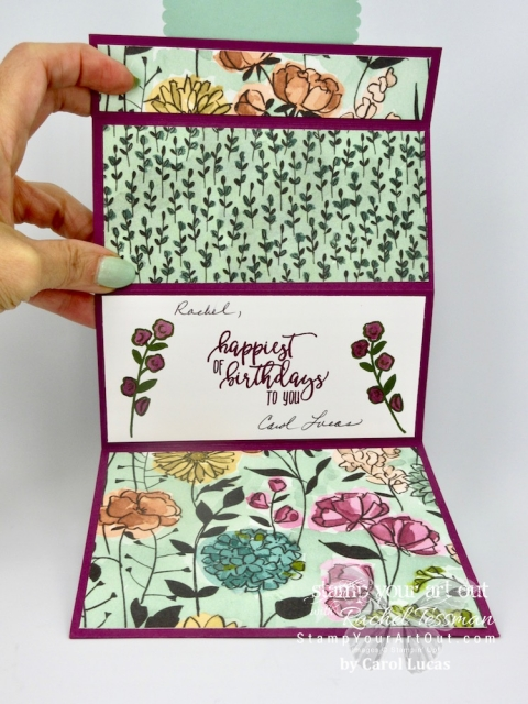 I received lots of hand-stamped birthday cards and gifts for my 50th! Click here to see this and many more.…stampyourartout #stampinup - Stampin' Up!® - Stamp Your Art Out! www.stampyourartout.com