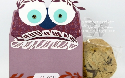 Get Well Monster Gift Pouch