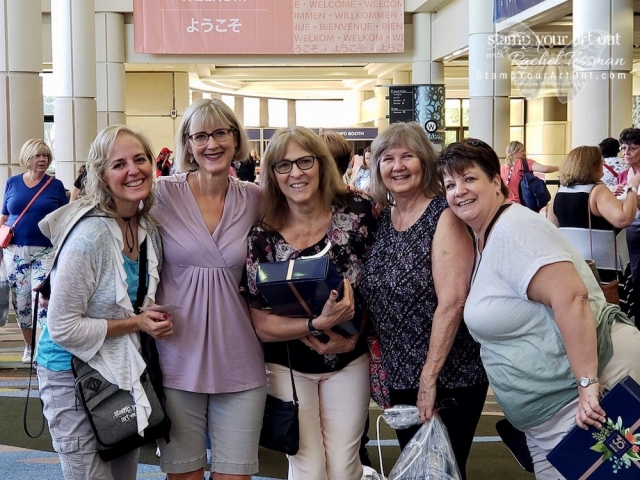Having a blast at Stampin' Up!'s November 2018 OnStage in Orlando Florida! Happy 30th Anniversary Stampin' Up! Click here to see images of new products from the upcoming 2019 Occasions and Sale-A-Bration publications and photos of the fun I've been having (feeling blessed)...stampyourartout #stampinup - Stampin' Up!® - Stamp Your Art Out! www.stampyourartout.com