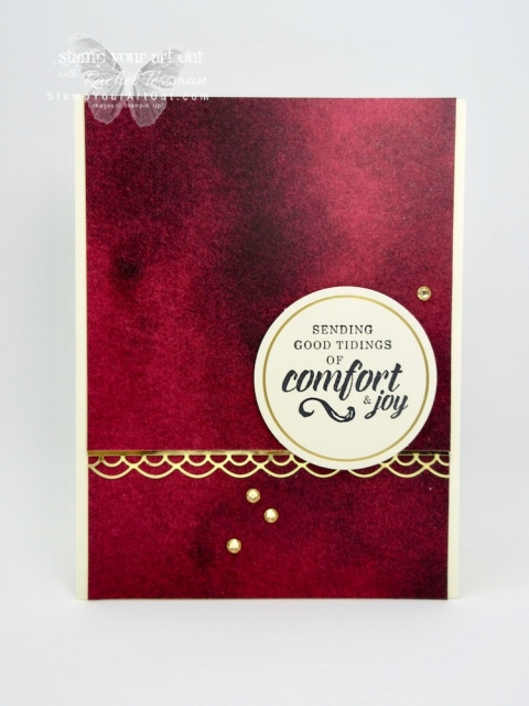 "I doubled the cards in the Timeless Tidings holiday card kit by adding only 13 sheets of neutral 8-1/2"" x 11"" and 20 medium Whisper White envelopes. You can find measurements, a complete list of supplies, and a link to a how-to video that includes directions for how to change up the 4 kit card designs (5 of each to make 20) to 8 altered designs (5 of each to make 40)...#stampyourartout #stampinup - Stampin' Up!® - Stamp Your Art Out! www.stampyourartout.com"