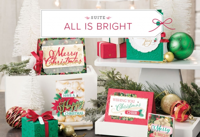 The All Is Bright Suite from the 2018 Holiday Catalog! #stampyourartout #stampinup - Stampin' Up!® - Stamp Your Art Out! www.stampyourartout.com