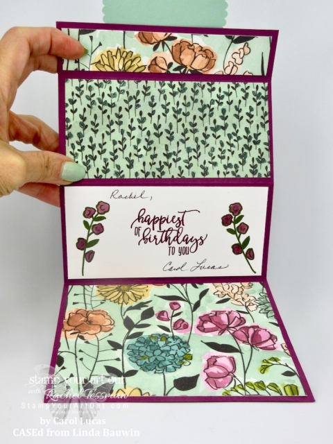 Click here to see this card and 10 others that I've received from fellow Stampin' Up! Demonstrators in my Stampers With ART group. The cards feature products from the 2018-19 Annual and/or 2018 Holiday Catalog. And the themes were Sympathy, Masculine or Teen Birthday. It's amazing to see all the different ideas creative people can come up with! I also had to share this beautiful card – again from someone im my group!  #stampyourartout #stampinup - Stampin' Up!® - Stamp Your Art Out! www.stampyourartout.com