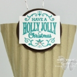 Here is a quick and simple gift package that you can make in no time and hang on the Christmas tree! Fill these with money and/or treats. Then watch the smiles as everyone finds these special ornaments during Christmas. Products used: Christmas Traditions Punch Box and Corrugated Embossing Folder #stampyourartout #stampinup - Stampin' Up!® - Stamp Your Art Out! www.stampyourartout.com