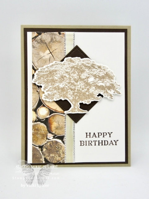 Click here to see this card and 10 others that I've received from fellow Stampin' Up! Demonstrators in my Stampers With ART group. The cards feature products from the 2018-19 Annual and/or 2018 Holiday Catalog. And the themes were Sympathy, Masculine or Teen Birthday. It's amazing to see all the different ideas creative people can come up with! #stampyourartout #stampinup - Stampin' Up!® - Stamp Your Art Out! www.stampyourartout.com