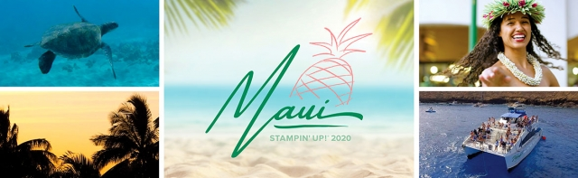 I earned my next trip in 3 months and 11 days! Yay!!! I'm taking my hubby to Maui! #stampyourartout #stampinup - Stampin' Up!® - Stamp Your Art Out! www.stampyourartout.com