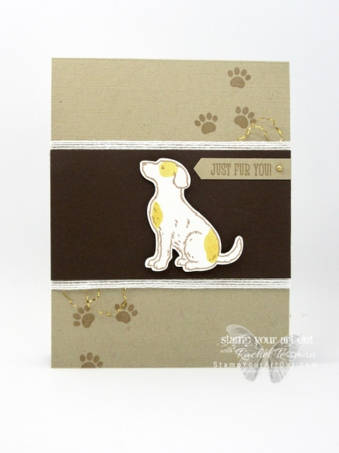 The new Happy Tails and Nine Lives Stamp Sets each have coordinating punches so you can stamp a variety of cats and dogs and cut them out with ease. I love how there are images in each set that can work with either dogs or cats, too. I had to have them both! #stampyourartout #stampinup - Stampin' Up!® - Stamp Your Art Out! www.stampyourartout.com