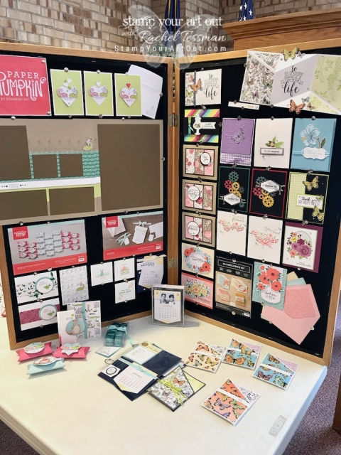 I love my Stampers With ART Stars! We had a wonderful January 2019 Demos Galore Event thanks to these demonstrators, my upline, and many of my sideline sister demos! #stampyourartout #stampinup - Stampin' Up!® - Stamp Your Art Out! www.stampyourartout.com