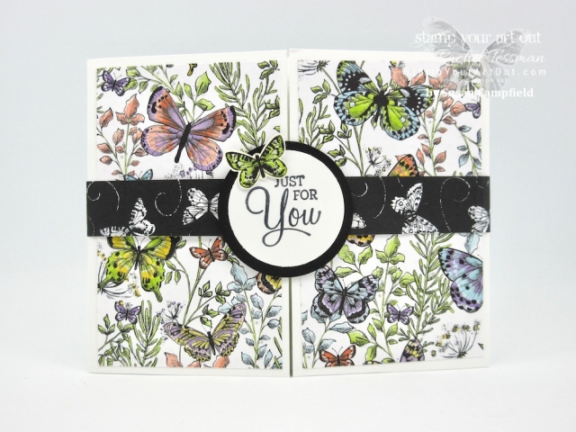 We had a wonderful January 2019 Demos Galore Event! Click here to see all the fun gifts the demonstrator helpers received: a pretty Beauty Abounds butterfly name tag, a Gingham Gala tiny treat bag, a Botanical Butterfly make-n-take Gate-Fold Pop Out card, and a product gift that contained papers from the Floral Romance Suite. #stampyourartout #stampinup - Stampin' Up!® - Stamp Your Art Out! www.stampyourartout.com