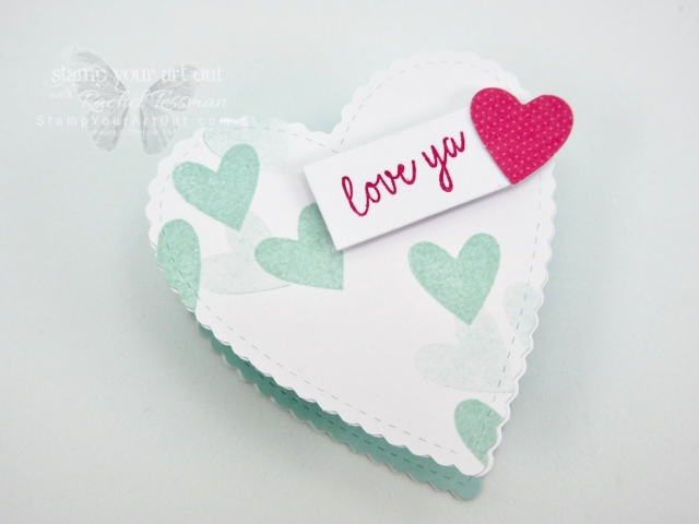 I have even more alternate project to share that I created with the January 2019 Be Mine Valentine Paper Pumpkin Kit! Click here to watch a how-to video, get measurements and supplies, and see close-up photos of my heart box, bunny treats and Flip-Fold Welcome Baby card! #stampyourartout #stampinup - Stampin' Up!® - Stamp Your Art Out! www.stampyourartout.com