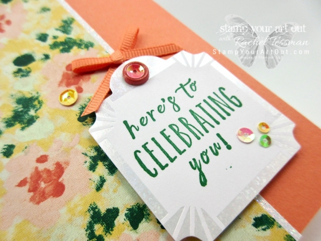 I made some colorful and festive birthday cards with the Garden Impressions designer paper, images from the Perennial Birthday stamp set, sequins, and some fun colors from the 2018-20 In Color collection. Click here for directions, more photos, measurments, and a complete list of Stampin' Up!® products linked to where you can find them in my online store. #stampyourartout #stampinup - Stampin' Up!® - Stamp Your Art Out! www.stampyourartout.com