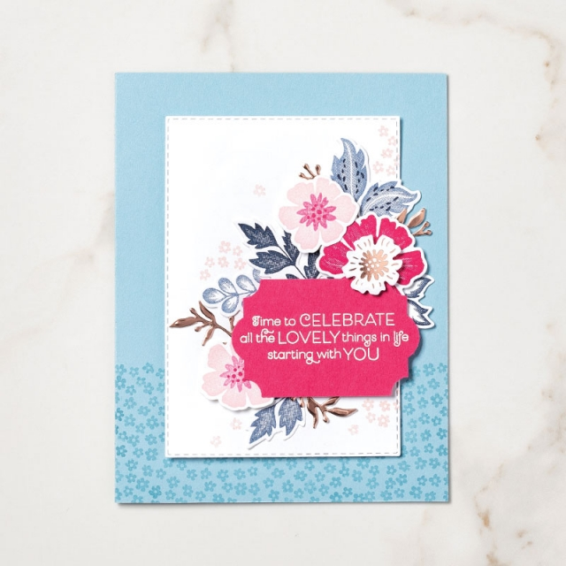 Everything Is Rosy Medley – available May 2019 or while supplies last. #stampyourartout #stampinup - Stampin' Up!® - Stamp Your Art Out! www.stampyourartout.com