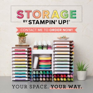 As of April 1, 2019 Stampin' Up!® is now offering interchangeable, stackable, customizable storage units for ink pads, markers, blends, ink refills and more! #stampyourartout #stampinup - Stampin' Up!® - Stamp Your Art Out! www.stampyourartout.com