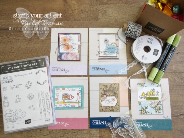 Having a blast at Stampin' Up!'s April 2019 OnStage in Minneapolis, MN – Goodies I took home! #stampyourartout #stampinup - Stampin' Up!® - Stamp Your Art Out! www.stampyourartout.com