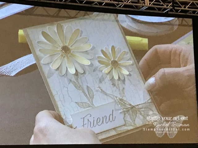 Having a blast at Stampin' Up!'s April 2019 OnStage in Minneapolis, MN! – Photos of the display boards and on stage demonstrations. #OnStage2019 #stampyourartout #stampinup - Stampin' Up!® - Stamp Your Art Out! www.stampyourartout.com