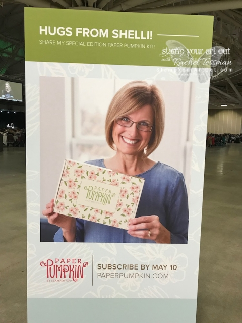 Having a blast at Stampin' Up!'s April 2019 OnStage in Minneapolis, MN! – May 2019 Paper Pumpkin Peeks. #OnStage2019 #stampyourartout #stampinup - Stampin' Up!® - Stamp Your Art Out! www.stampyourartout.com