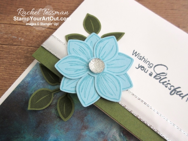 I'm playing with new products that will be available to all June 4, 2019. Click here to see a how I made two pretty cards with the Floral Essence Stamp Set, Petal Pink Organdy Striped Ribbon, and other products from the Perennial Essence Suite of products. You'll be able to access measurements, directions, and links to the products I used. #stampyourartout #stampinup - Stampin' Up!® - Stamp Your Art Out! www.stampyourartout.com