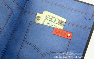 Masculine Jean Pocket Card