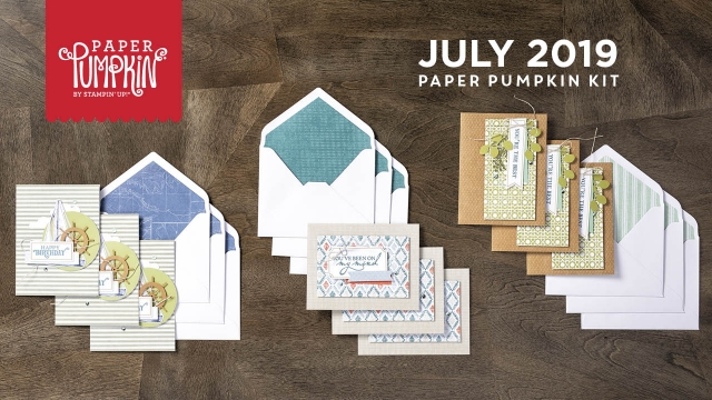 Image result for stampin up july 2019 paper pumpkin
