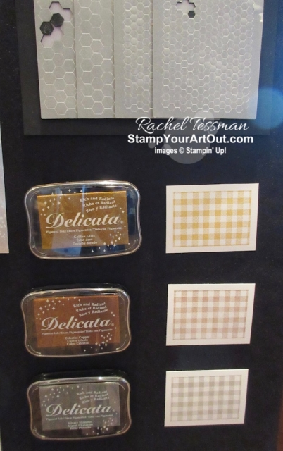 Photos of the display boards from the 2019 Greek Isles Stampin' Up! Incentive Trip showing off lots of new products from of the upcoming 2019 Holiday Catalog. #stampyourartout #stampinup - Stampin' Up!® - Stamp Your Art Out! www.stampyourartout.com