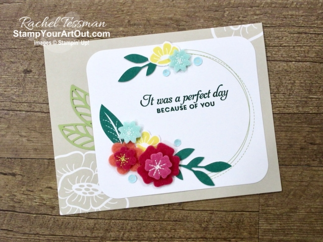 I forgot that I had the coordinating stamp set, so I pulled out the Butterfly Wishes set, the Shaded Spruce ink, and a few tools and adhesives and came up with these 3 alternate cards from the For the Love of Felt card kit. Directions, measurements and supplies linked to my online store can be found by clicking here. #stampyourartout #stampinup - Stampin' Up!® - Stamp Your Art Out! www.stampyourartout.com