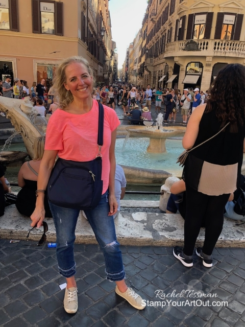We are having so much fun in Italy! Making the most of these few days. And then we attend the Greek Isles Incentive Trip 2019! #stampyourartout #stampinup - Stampin' Up!® - Stamp Your Art Out! www.stampyourartout.com