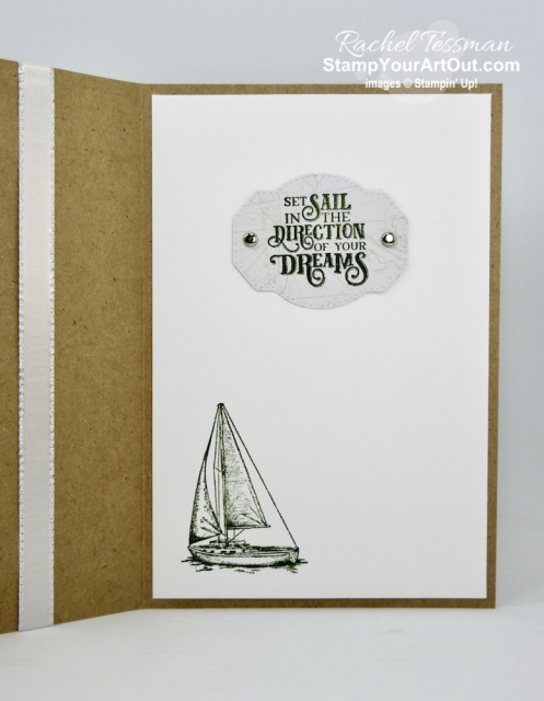 I went a little crazy and made thirteen cards and a couple treat containers with the Come Sail Away Memories & More Card Pack and coordinating products. Click here so you can watch my video so you can see all my tips and tricks and get the step-by-step directions. You'll also be able to access measurements for the box, other close-up photos, and links to all the products I used. #stampyourartout #stampinup - Stampin' Up!® - Stamp Your Art Out! www.stampyourartout.com