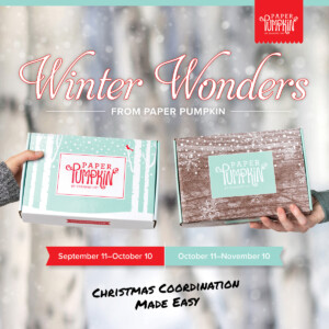 Sign up by October 10th to get the next exclusive Paper Pumpkin Kit! The October 2019 kit makes 10 full-size cards/envelopes. The November 2019 Paper Pumpkin kit makes 24 holiday-themed gift tags of 4 various sizes and designs. Both kits come in special-edition boxes and include coordinating colors: Early Espresso, Pool Party, Poppy Parade, and Shaded Spruce. The October and November kits coordinate; however, each kit is all-inclusive and can stand alone. - Stampin' Up!® - Stamp Your Art Out! www.stampyourartout.com