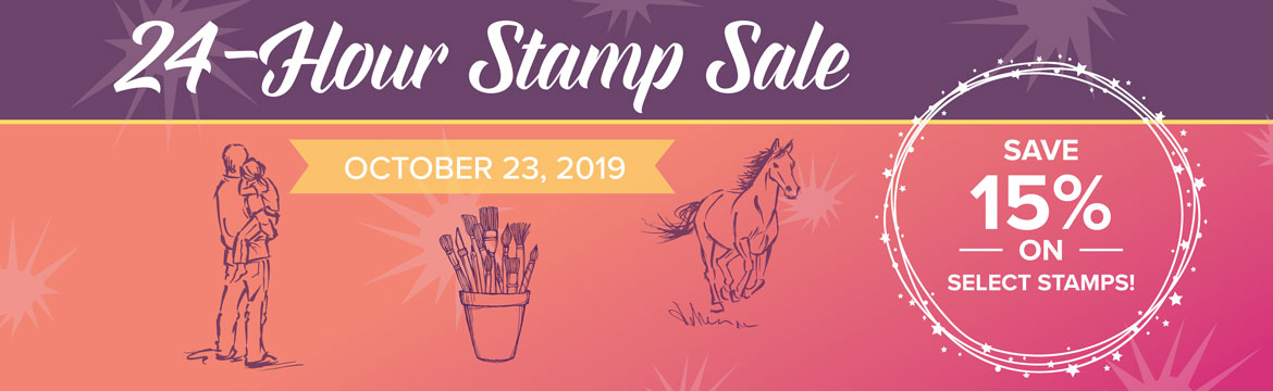 Stampin' Up! is having a 24-Hour Flash Sale on select stamp sets. Click here for more information. - Stampin' Up!® - Stamp Your Art Out! www.stampyourartout.com