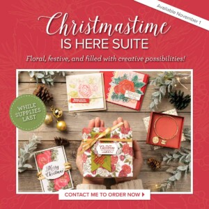 Christmastime is Here Suite available November 1, 2019! - Stampin' Up!® - Stamp Your Art Out! www.stampyourartout.com