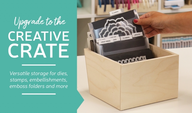 Stamp-n-Storage Creative Crate Sale! Stampin' Up!® - Stamp Your Art Out! www.stampyourartout.com