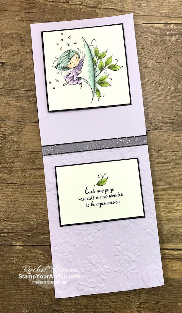 Click here to see how to make this festive Corner Twist Card with the New Wonder Stamp Set. This card is an adaptation and simplified version of the fun-fold card I made for the October 2019 Stampin' Anonymous set of Tutorials. The key for this card is to have an image on the front that will look good if turned 45 degrees. You'll be able to access measurements, see other close-up photos, and get links to all the products I used. You'll also be able to access a how-to video for this fun fold card. - Stampin' Up!® - Stamp Your Art Out! www.stampyourartout.com