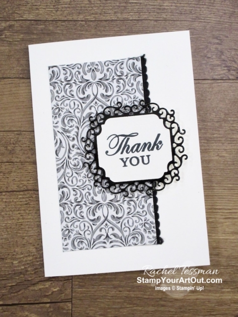 Three quick ideas made with the Monster Bash Suite of Products: a thank you card, a Halloween RX Bar wrap, and a Halloween Ghirardelli wrap. - Stampin' Up!® - Stamp Your Art Out! www.stampyourartout.com