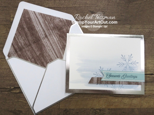 I'm excited to share with you what I created with the October 2019 Winter Woods Paper Pumpkin Kit: a window card, a 12x12 scrapbook page layout with a shaker element, a vertical bendi card, and three cards from the elements of one (I share how to triple the cards in the kit). Click here for photos of all these projects, a video with directions, measurements and tips for making them, and a complete product list linked to my online store! - Stampin' Up!® - Stamp Your Art Out! www.stampyourartout.com